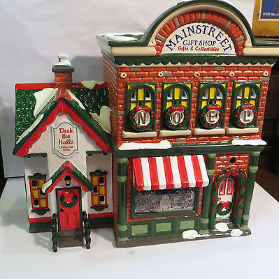 DEPARTMENT 56 - SNOW VILLAGE - MAINSTREET GIFT SHOP - NEW IN BOX- MINT