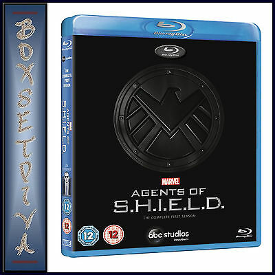 Agents Of Shield - Marvel  Complete Season 1  **Brand New Blu-Ray Region Free***
