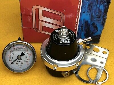 TURBOSMART E85 OK FPR800 Fuel Pressure Regulator + Gauge Black 1/8 port 800 HP