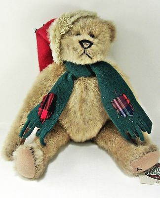 "SCROOGE Cottage Collectibles Holiday Bear Ganz - approx 11"" long Lorraine Chien"