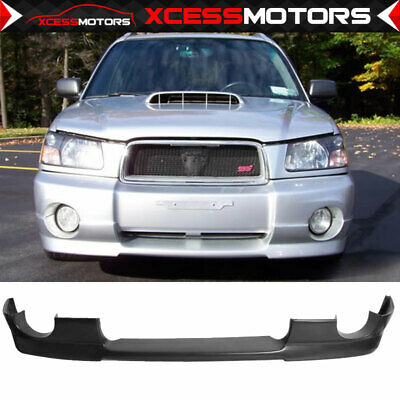 For 03-05 Subaru Forester Sg5 DS Style Urethane Front Bumper Lip Spoiler