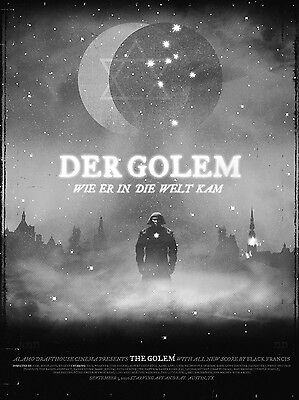 Der Golem Classic 1920 Silent Movie 7x5 inch Repro Poster