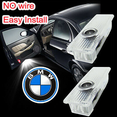 2 X LED Car door Led Welcome laser projector Logo Ghost Shadow Light For BMW UK