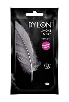 Dylon Fabric Dye Hand Use 50g Pack Clothes - Smoke Grey ** CLEARANCE PRICE **