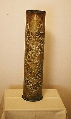 Trench Art - PRE WORLD WAR I TRENCH ART PIECE - Large Sized 28.5 Inches