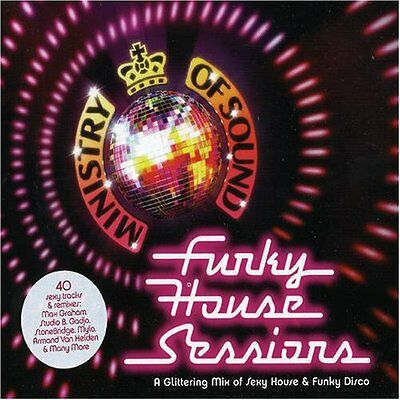 Various artists ministry of sound funky house sessions 07 for Funky house artists