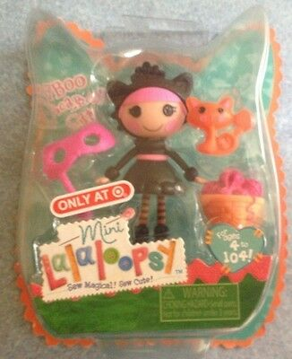 Mini Lalaloopsy Doll ~Boo Scaredy Cat~ Exclusive Halloween Edition NEW NIP