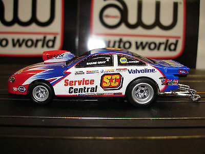 AUTO WORLD ~ SHANE GREY PONTIAC PRO STOCK CAR ~ NEW IN JEWEL ~ FITS AFX, AW, JL