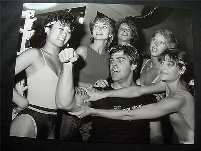 1984 Chuck Wagner Automan Candid Gym Vintage Original TV Photo A12