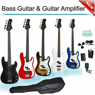 New Electric Guitar with Guitar Amp  Bag Tuner Strap Stand Picks