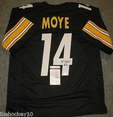 1bbe1f28a ELI ROGERS AUTOGRAPHED SIGNED Jersey Beckett COA Pittsburgh Steelers ...