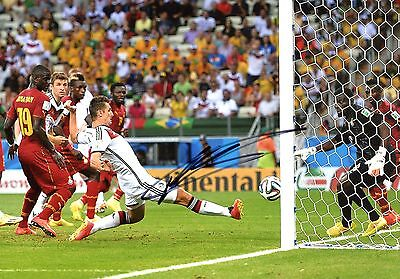 Miroslav Klose SOCCER autograph, In-Person signed photo