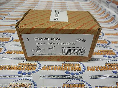 9928890024, Switch Mode Power Supply Output 1Amp 24Vdc New Sealed In Box