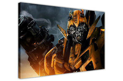 Transformers Bumblebee Giclee Canvas Movie Poster Picture Art