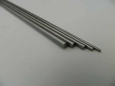 Silver Steel Ground Rod Shaft Round 2mm 3mm 4mm 5mm 6mm 7mm 8mm10mm12mm x 330mm
