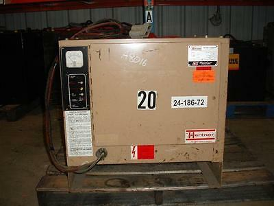 USED FORKLIFT BATTERY CHARGER, 24 Volt,  600 AH,  3 Phase, Auto