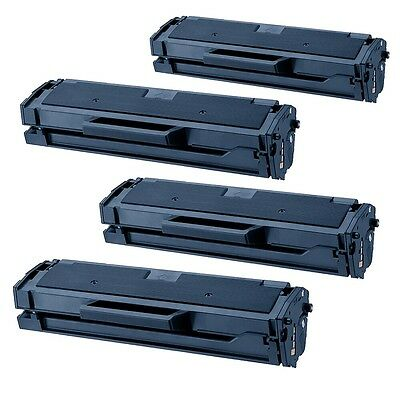 4PK MLT-D101S TONER CARTRIDGE for SAMSUNG 2165W SCX3405 3405W 3405FW SF760