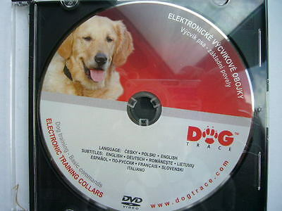 Dogtrace Remote Electric Dog Trainer Collar Training Dvd Full Usage Covered