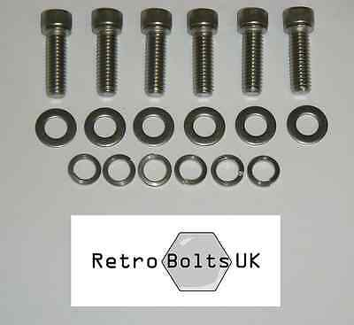 FORD ESSEX V6 3.0 STAINLESS STEEL engine SUMP PAN BOLTS HEXAGON BOLTS CAPRI KIT