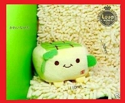 JAPANESE HANNARI TOFU PLUSH MOBILE PHONE STAND *(Green) *