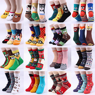 Free P&P [Buy5+Gift1] Funny Animal Star Wars Monster Cartoon Galaxy Gifts Socks