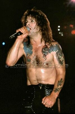 Ozzy Osbourne Photo 8x12 or 8x10 inch Live '80s Exclusive Concert Pro Print L9
