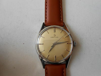 OROLOGIO   DA  POLSO   CERTINA   1950    in   poi   SWISS  MADE  ,,