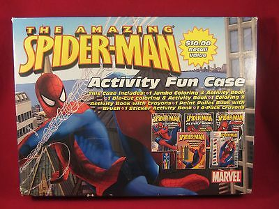 The Amazing Spider-Man Marvel Activity 5 Pack Coloring Paint Activity Books 2007