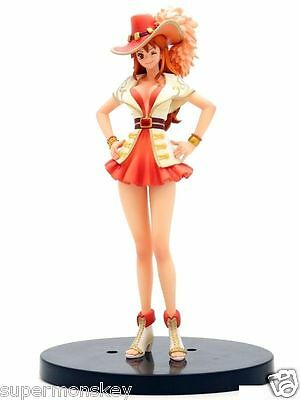 BANPRESTO ONE PIECE DXF GRANDLINE LADY 15TH ANNIVERSARY EDITION NAMI FIGURE NEW