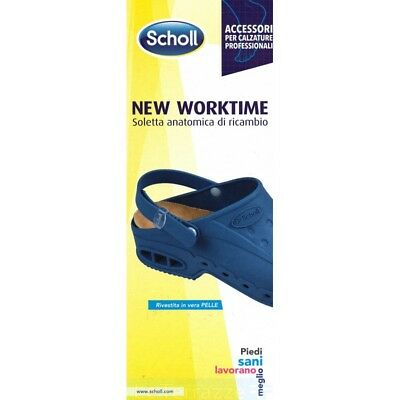 Plantari Dr Scholl solette lavoro plantare new work time fit worktime Scholl