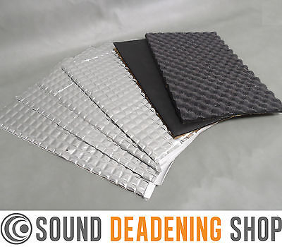 Silent Coat 2mm 4+2 Sheets Car Sound Proofing Deadening Pads Value Pack