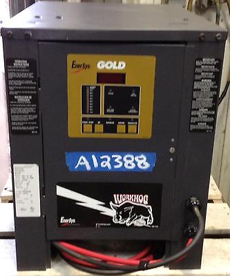 USED AUTOMATIC BATTERY CHARGER -  24 Volt, 380 AH, 1 Phase, Nice Condition