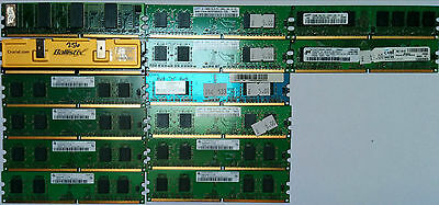 Ddr2 Ddr-Ii Ddrii Sdram Memory Modules Pc2100 Pc2700 Pc3200 512Mb Mixed Untested