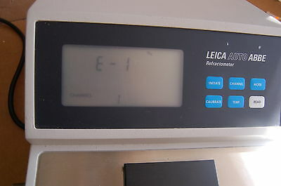 Leica Auto Abbe Refractometer index automatic