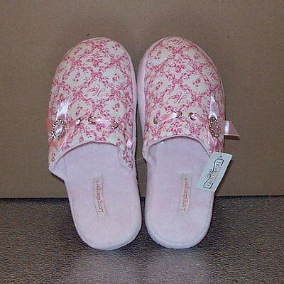 "Longaberger Horizon of Hope SLIPPERS ""Medium"" ~ Brand New-with-Tags! ~ VERY RARE"