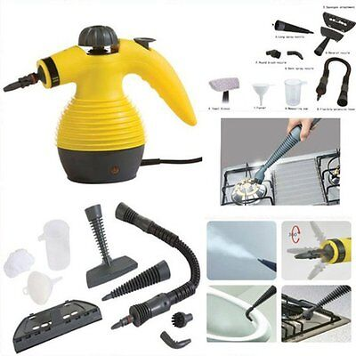 Electric Steam Cleaner Carpet Home Office Car Garments Portable Hot Wash 1200W