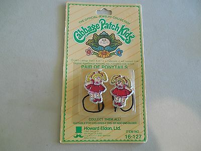 THE OFFICAL JEWELRY COLLECTION CABBAGE PATCH KIDS Pair of Ponytails Girl 16-127