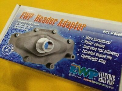 EWP ADAPTOR to Suit HOLDEN 304 305 5L Electric Water Pump Davies Craig 2 Year Wt