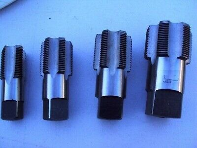"""BSP parallel Pipe  Large Taps 1""""- 1.1/4""""-1.1/2"""" & 2"""" all bottom Taps 4 items"""