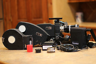 Eclair ACL-II 16mm Reflex Movie Camera Package (Lots of Extras)