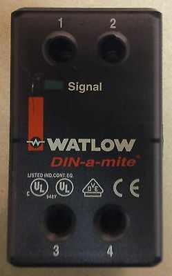 WATLOW DIN A MITE POWER CONTROLLER DA1V 1624 F000 Solid State Power Controller