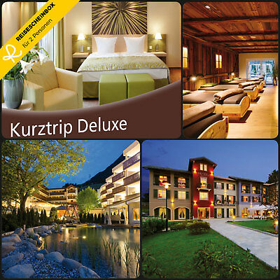 2 x 2 Day Short trip Deluxe for 2 in more than 150 Hotels Travel Voucher Holiday