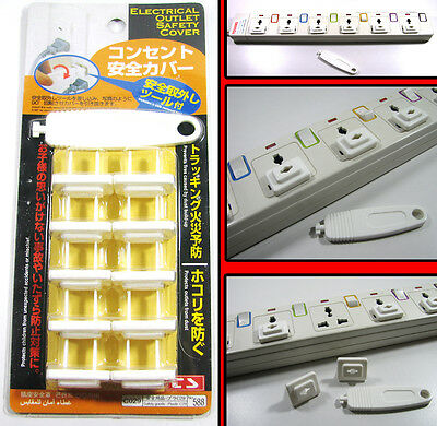High Quality Electrical Outlet Safety Cover Protector Safety Plugs & Key Lock