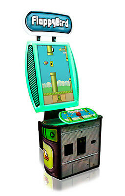 Bay Tek Flappy Bird Video Arcade Machine Redemption Game