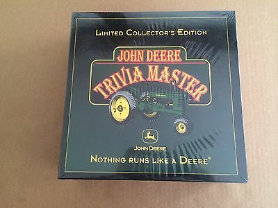 John Deere Trivia Master Game - Limited Collector's Edition - NEW UNOPENED
