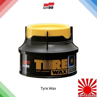 Soft99 Tyre wax UK stock fast delivery! NO IMPORT DUTY! NEW STOCK!