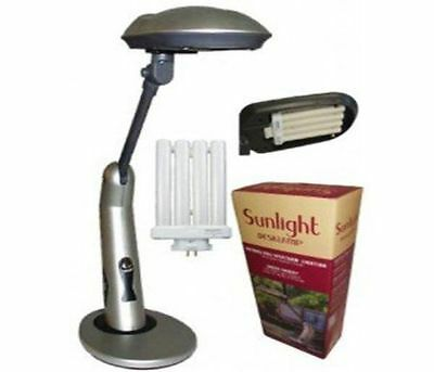 Lights Of America 1147TR Sunlight Desk Lamp Full Spectrum With Touch Switch