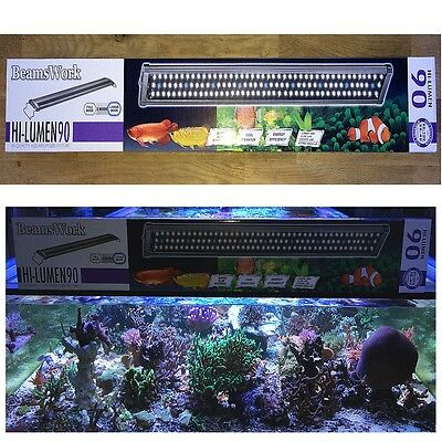 Aqua Light LED HI Lumen 90 - 33 Watt - Aufsatzleuchte 90 - 100 cm  Beams Work