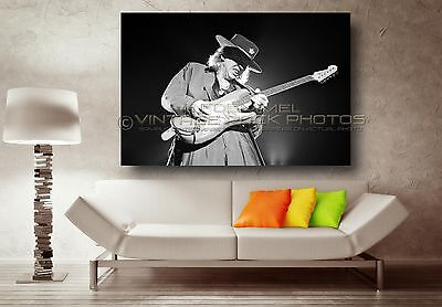 Stevie Ray Vaughan 20x30 inch Poster Size Photo Live '80s Concert Pro Print  L17