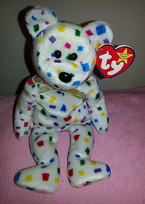Ty Beanie Baby Babies Ty2k the Happy New Year Bear